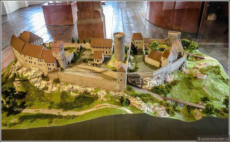 Макет крепости