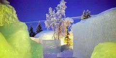 В Швеции вновь откроется ледяная гостиница