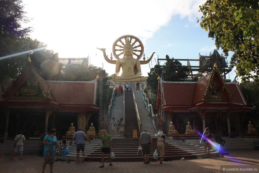 Храм Большого Будды обязателен для посещения =)