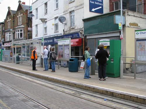 Трамвайная система Лондона