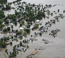 Сильные наводнения в США