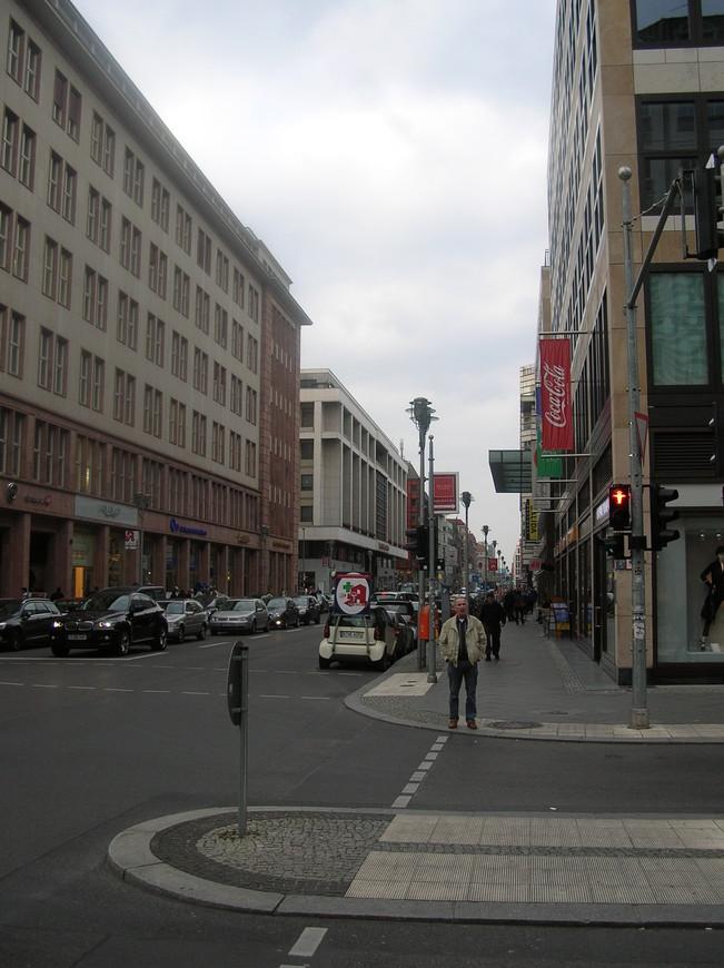 На улицах Берлина, пешком идем к Рейхстагу