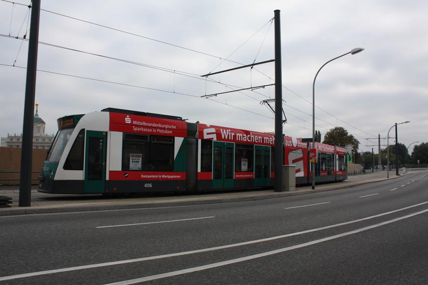 Технологичный трамвай,  его вообще не слышно