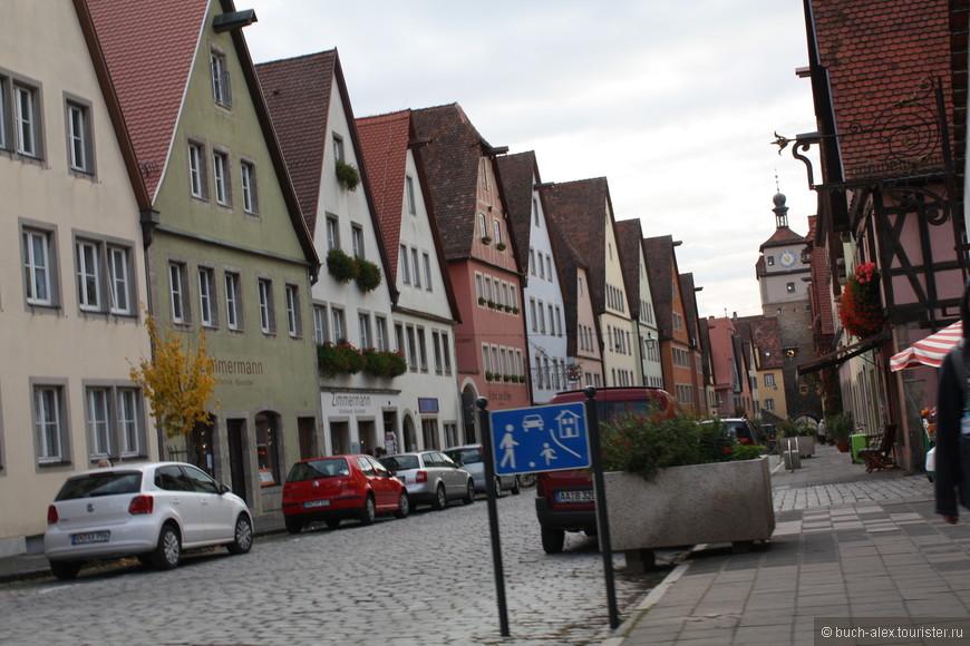 Как не странно, но в самый романтический город Германии, мы попали случайно. Искали кемпинг, а приехали в Ротенбург на Тауберге. Было решено осмотреть его с пристрастием.