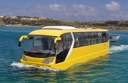 В Будапеште появился экскурсионный автобус-амфибия