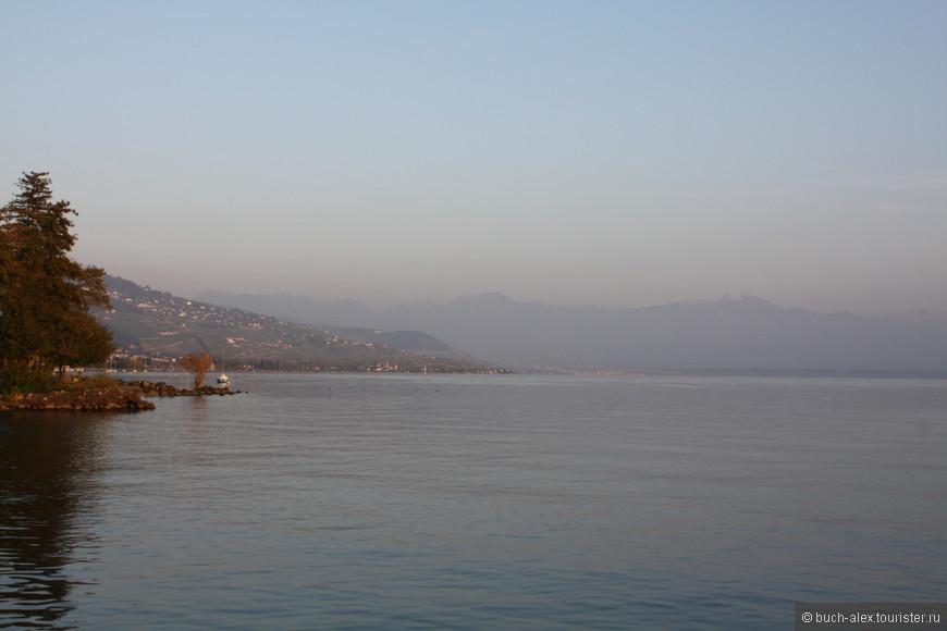 Женевское озеро и Лозанна были самыми удаленными точками от Москвы, поэтому физически, мы начали путь обратно.