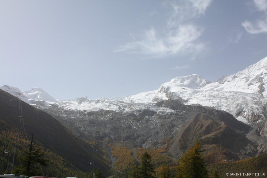 И вот открылись снежные шапки Альп, яркое солнце и голубое небо довершают работу по приведению души в состояние спокойствия и благодушия