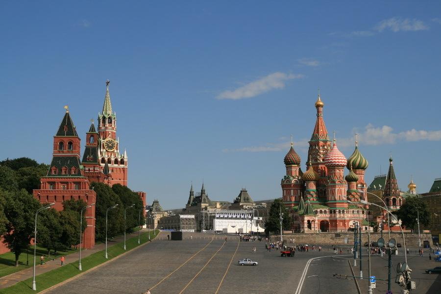 фото московского кремля и красной площади