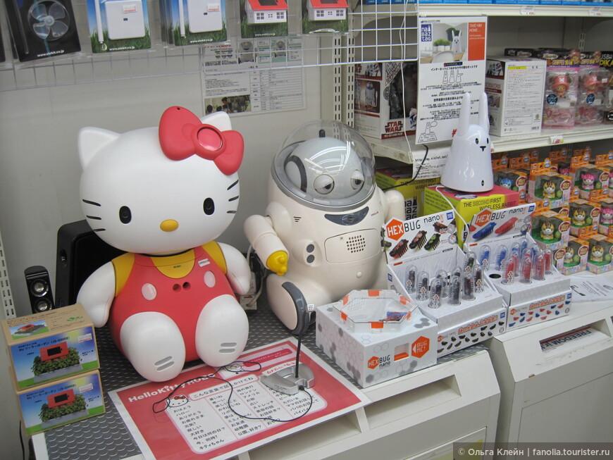 В магазине роботов Цукумо