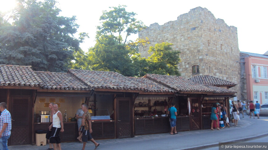 дорога к Гезлевским воротам