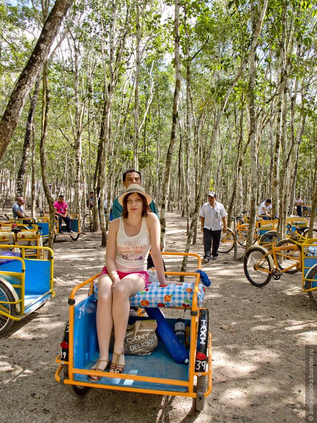 На велорикшах очень забавно кататься)