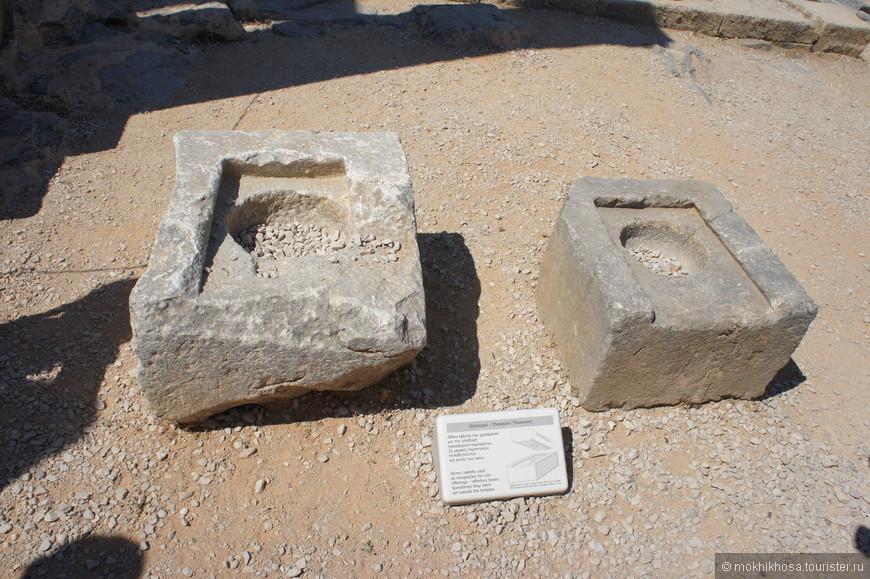 Древний сейф. Найден в Линдосе
