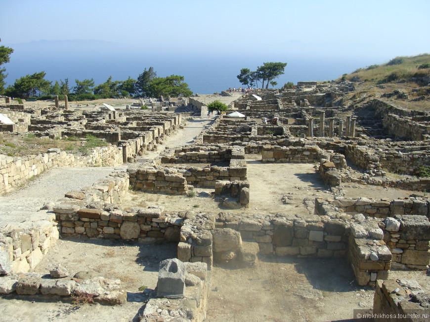 Античный Камирос. Найдите спальню, гостинную, внутренний дворик! А археологи могут!