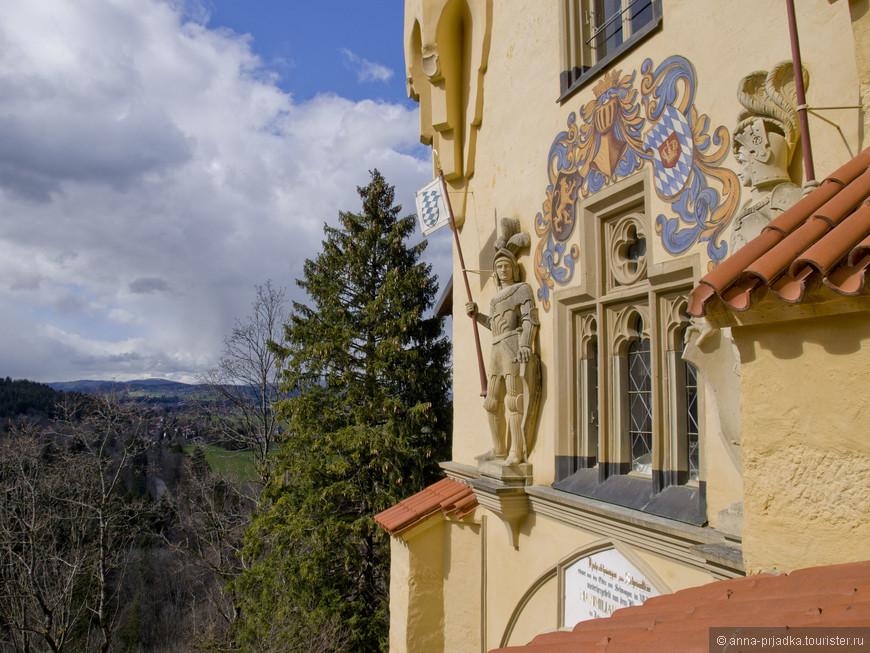 Но, он был закрыт на реконструкцию и мы отправились в замок Гогенцоллерн.