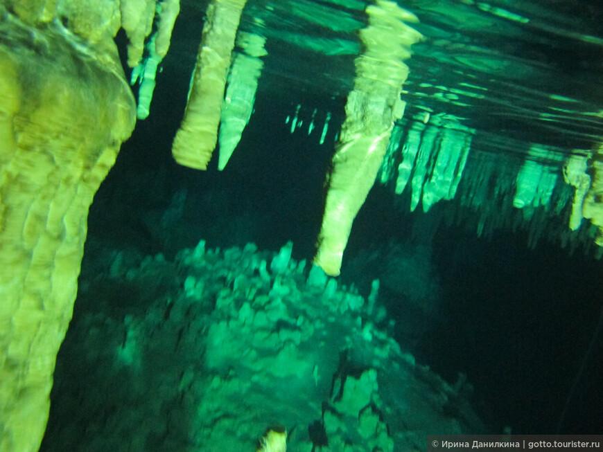 Завораживающая красота подземных рек Юкатана