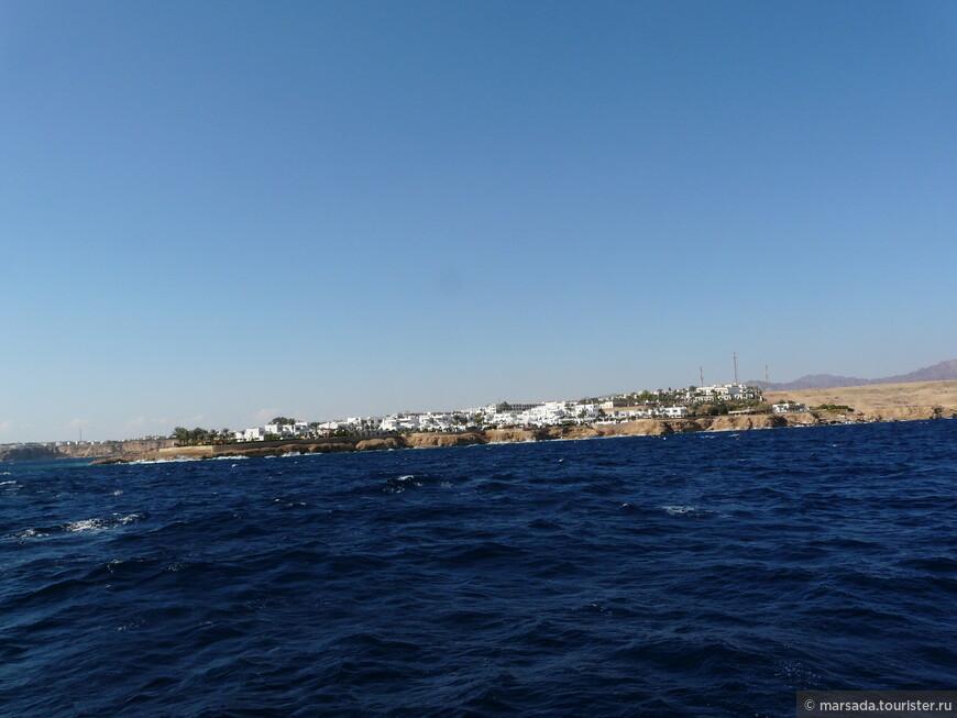 отплываем от Шарма, море чистейшее!