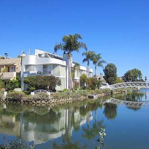 Лос-Анджелес. Каналы Venice Beach.