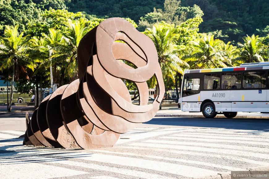 современное искусство на улицах Рио