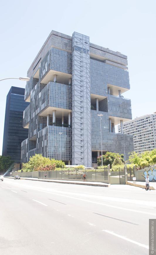 здание бразильской нефтяной компании Petrobras