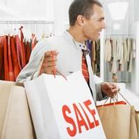 Сумки с покупками будут носить мужчины-модели