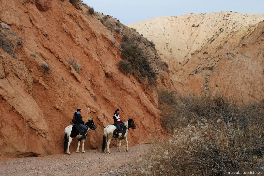 Верхом по Тосорскому каньону