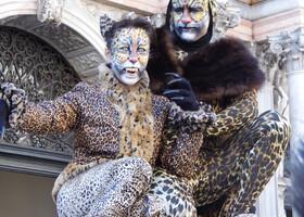 Немного Карнавала в Венеции.