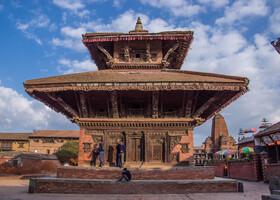 Древний город Бхактапур. Непал