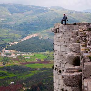 Сирия: замок Крак-де-Шевалье