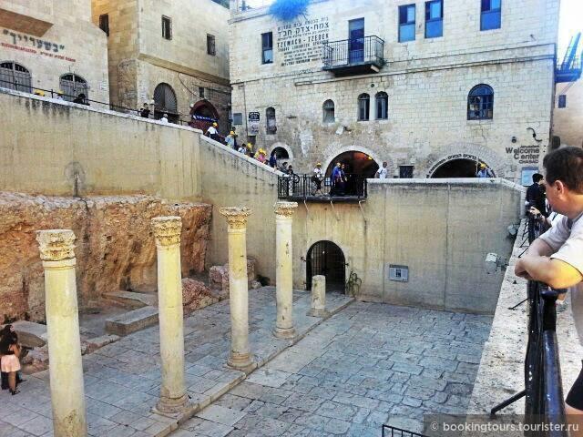 Римское Кардо Иерусалим