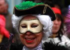 Цель в Германии. Лица карнавала.