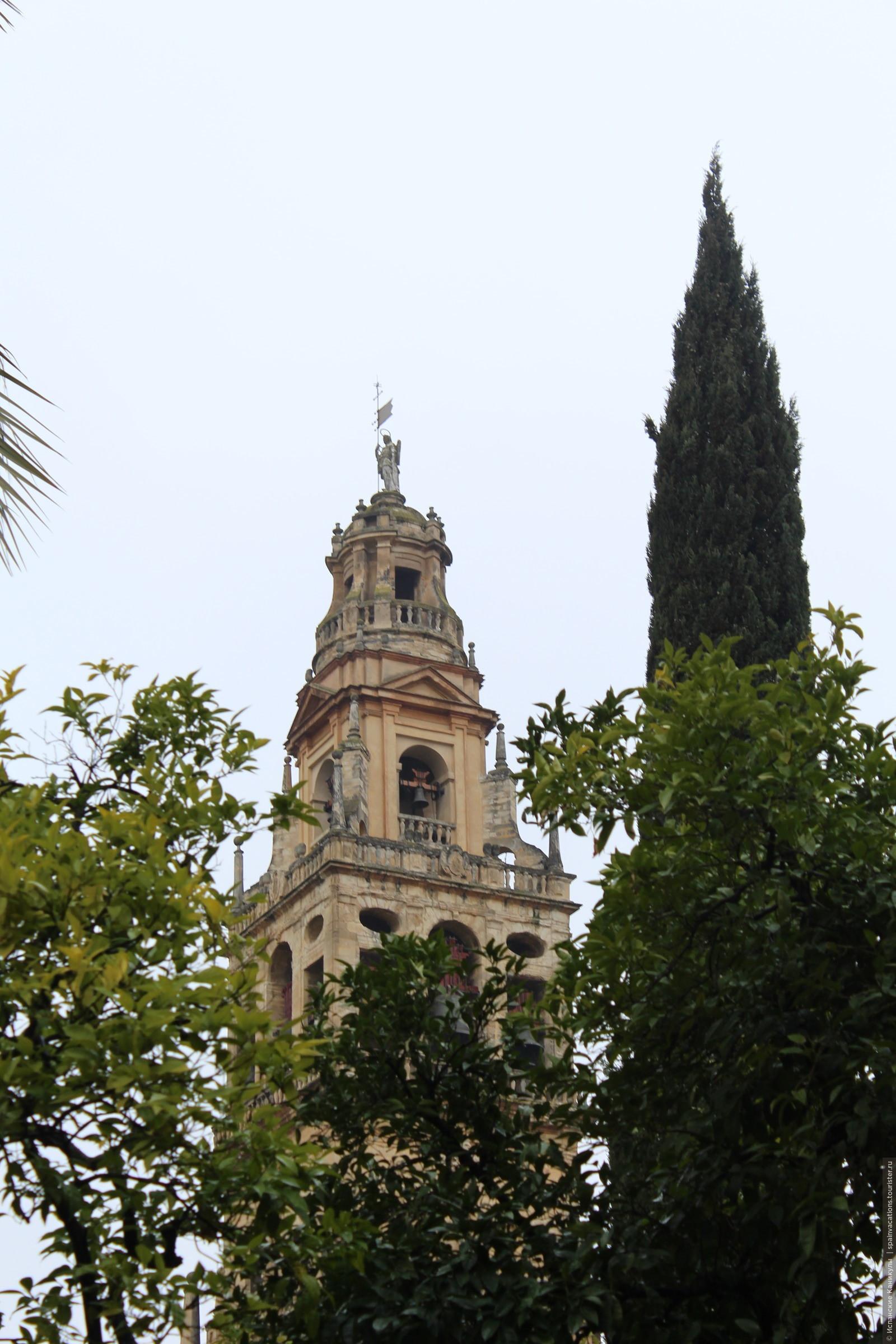Главная достопримечательность Кордобы - Кафедральный собор. Был построен в VIII веке как Мечеть, в XIII веке стал христианским собором., Кордова