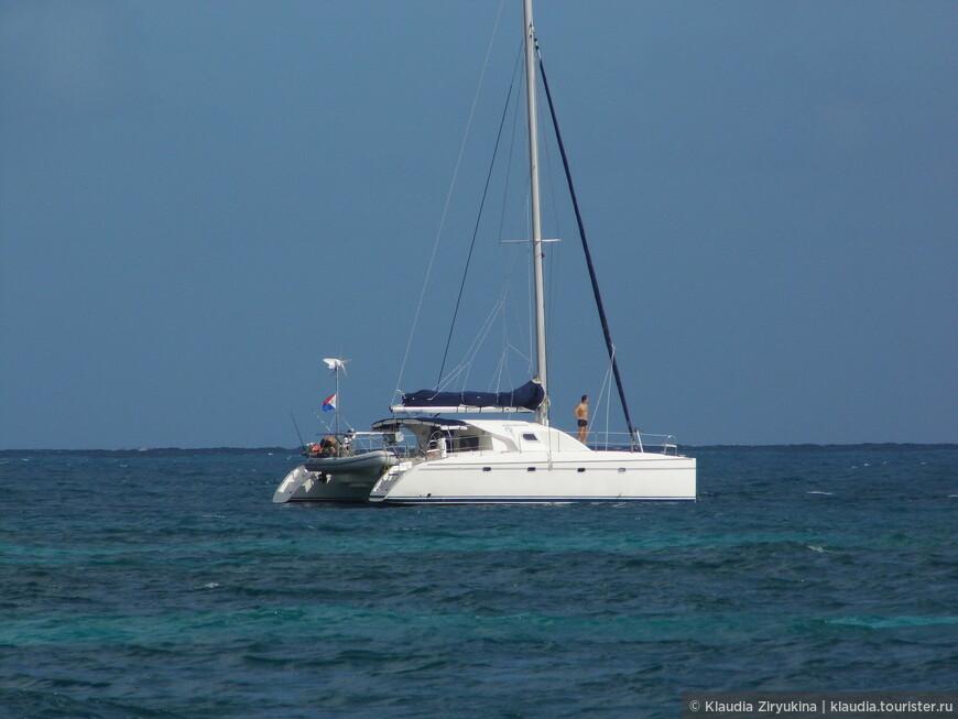 Яхты, катамараны, море и солнце -- это прекрасно!