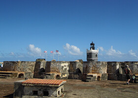 Колониальный Сан-Хуан. Пуэрто-Рико.