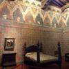 внутренне убранство дворца Даванцати, он является примером переходного периода в архитектуре, от готики к Возрождению, экскурсия с частным индивидуальным гидом по Флоренции
