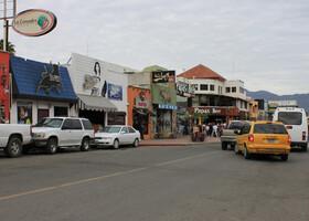 Типичная улица Энсенады
