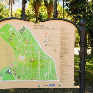 Ботанический сад в Рио-де-Жанейро