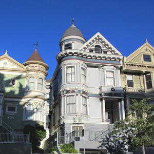 San Francisco. Викторианские дома и не только