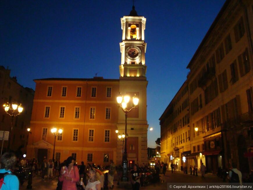 Здания в старой Ницце в основном 16-18 века