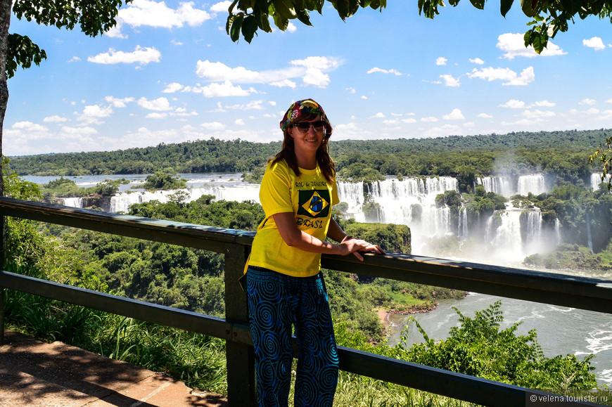 Первый увиденный водопад. Нет слов!