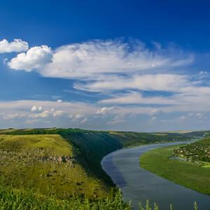 юго-западное направление осмотра со скального монастыря Цыпово