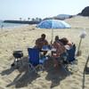 Пикник на берегу Индийского океана