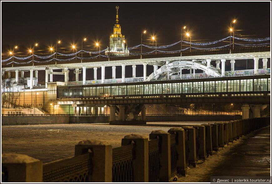 Станция метро Воробьевы горы