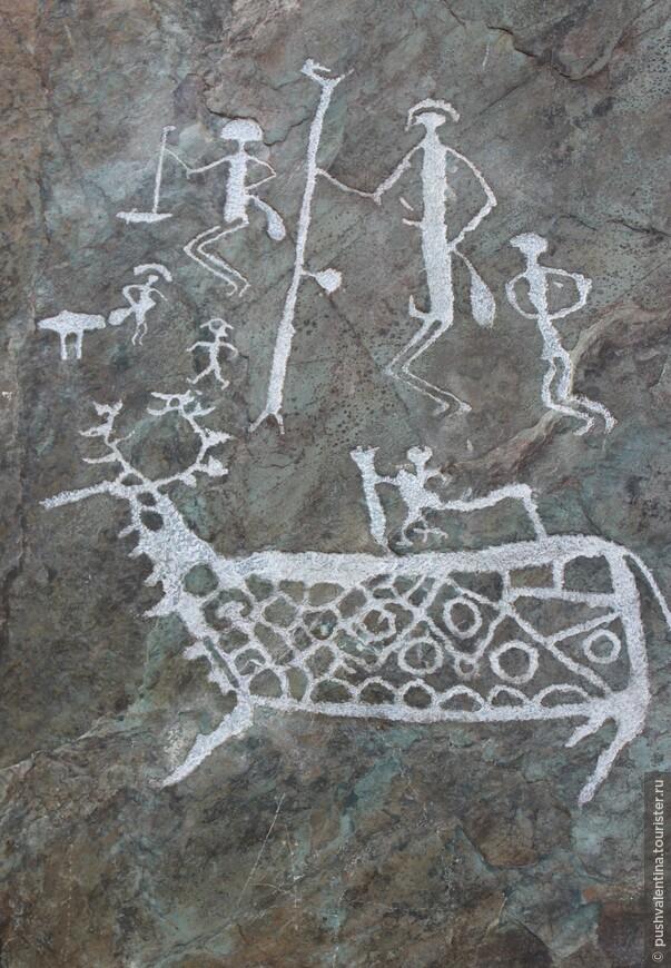 наскальные рисунки алтай пещеры