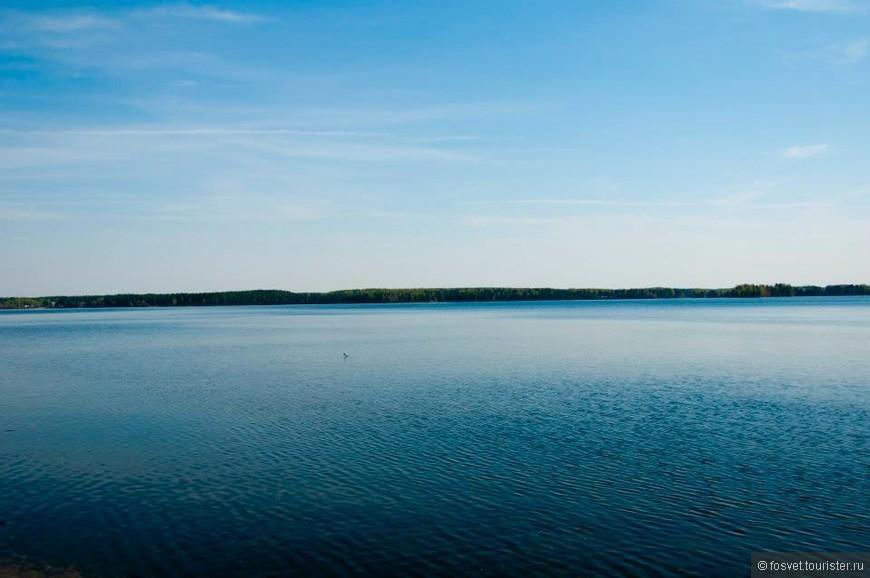 Это самое огромное озеро на территории Валдайского заповедника