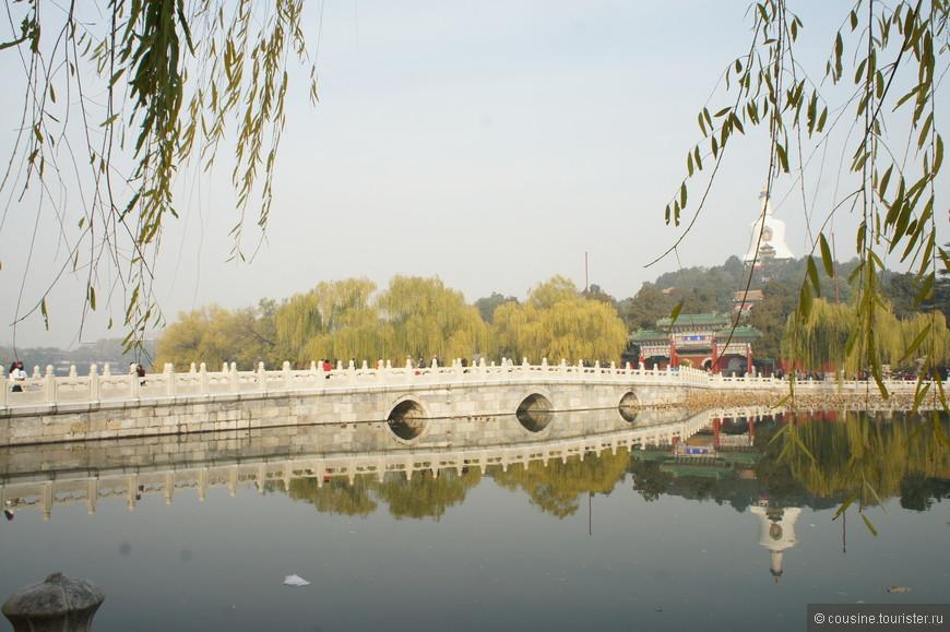 Бэйхай - императорский сад, расположенный к северо-западу от Запретного города.