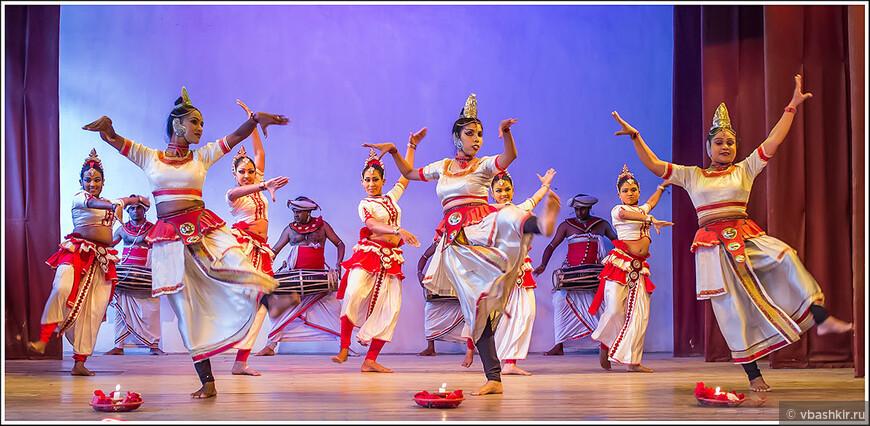 Национальные ланкийские танцы.