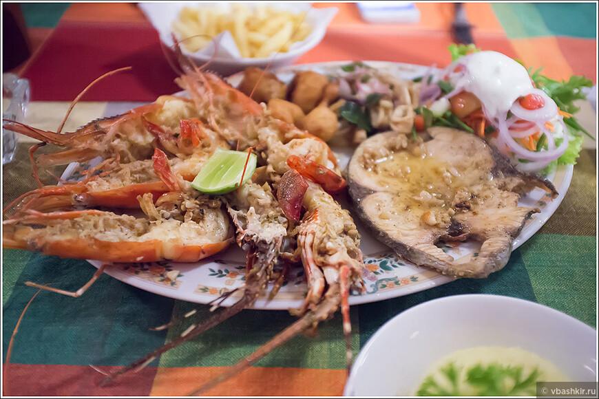Морепродукты радуют вкусом и ценой!