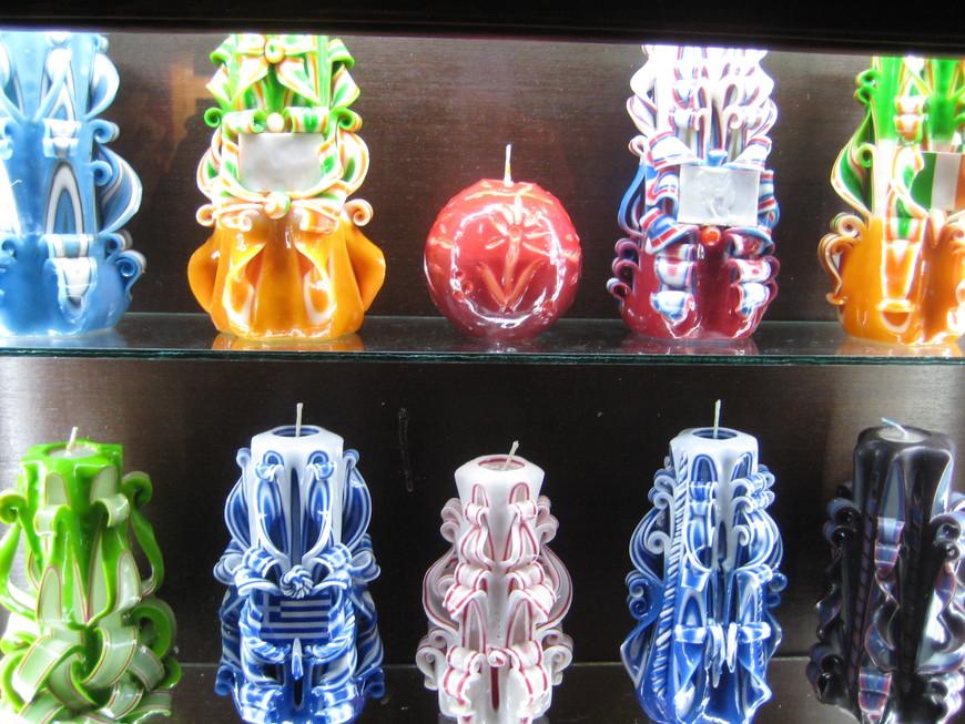 Декоративные свеччи