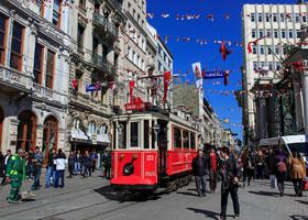 Стамбул, ч.5 — ул. Истикляль — Галатский мост