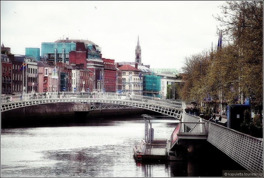 Дублин вообще считается городом завоевателей. Викинги пришли сюда первыми ( до открытия Америки). В 8 веке. А с 10 века здесь начинается город...